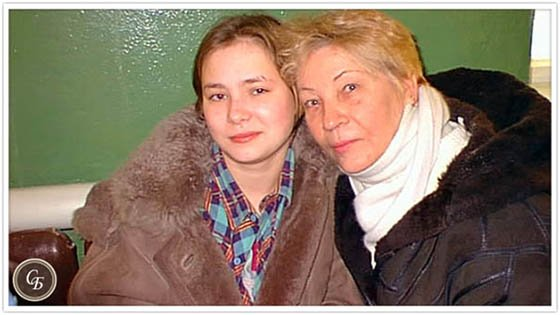 Саша с бабушкой